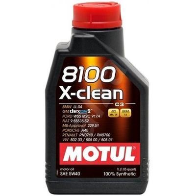 Motul 8100 X-Clean 5W-40 C3 1L
