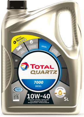 Total Quartz Diesel 7000 10W-40 5L