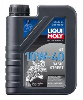 Liqui Moly 4T 10W-40 Basic Street 1L (3044)