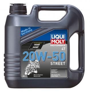 Liqui Moly 4T 20W-50 Basic Street 4L (1696)