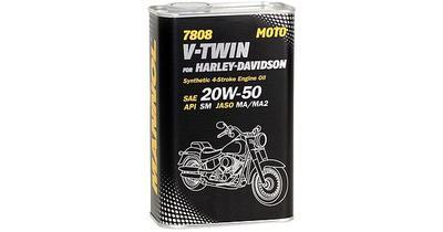 MANNOL 7808 V-TWIN HD 20W-50 1L (METAL)