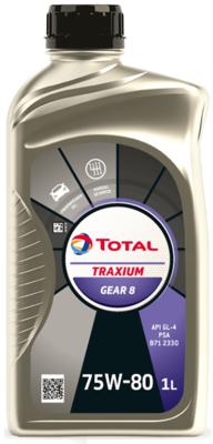 TOTAL TRAXIUM GEAR 8 75W-80 1L