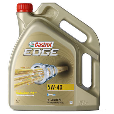 Castrol Edge FST Titanium 5W-40 5L