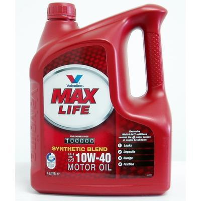Valvoline MAX LIFE 10W-40 4L